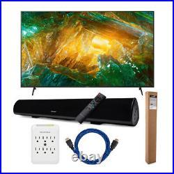Sony XBR-X800H 85 Inch LED 4K Ultra HD HDR Smart TV Bundle