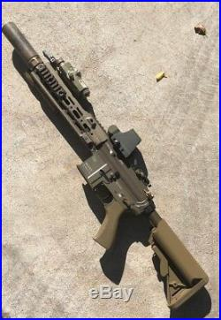 Tokyo Marui Delta H&K 416 Recoil Shock Airsoft AEG + Lots of Extra Accessories