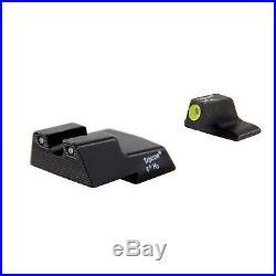 Trijicon HD XR Night Sight Set Yellow Front H&K 45C/P30/VP9 HK610-C-600895