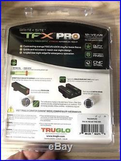TruGlo TFX PRO H&K P30/VP9 Tritium Fiber Optic XTREME Sight Set-TG13HP1PC