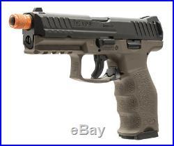 Umarex H&K Licensed VP9 GBB Tac Airsoft Pistol (Black/DEB)