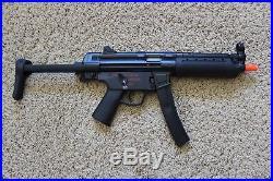 Umarex H&K MP5 A5 FPS-380 Electric Airsoft Rifle, BLACK AEG