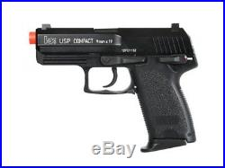 Umarex H&K USP Compact Gas Blowback Airsoft Pistol, Full Metal by KWA