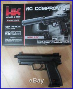 Umarex H&K USP Tactical Softair Pistole Airsoft Waffe Softairpistole 25976