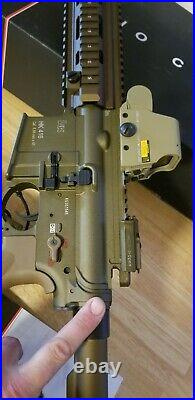 Umarex Licensed H&K 416a5 withVFC Avalon gear box. TAN. UPGRADED barrel and hop up