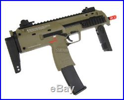 Umarex USA H&K MP7A1 Gas Blowback Airsoft Gun by KWA, Dark Earth/Tan SMG FDE GBB