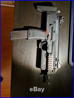 Used H&K Umarex MP7 Rapid Deployment Hard Kick Airsoft Gas Blowback by KWA