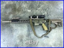 VFC Airsoft AEG HECKLER & KOCH HK416 V2 CQB 14.5 TAN CAG Delta