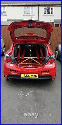 Vauxhall Astra H K-Brace BLACK