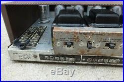 Vintage Harman Kardon Chorale H-k A 260 60w 1959 Tube Stereo Amplifier Crisp