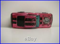 Vintage Hot Wheels Redline Rose / Pink 1969 H. K. Boss Hoss RARE NICE