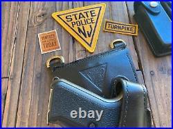Vintage Tex Shoemaker NJSP Discontinued NJ State Police Holster For HK P7M8 Seal
