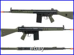 WE-Tech H&K Licensed G3A3 Airsoft GBB Rifle