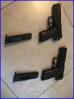 X2 Airsoft H&K USP 6mm non-blowback CO2 pistol