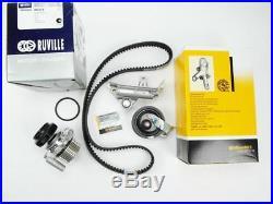 Zahnriemensatz + Spanndämpfer + Wasserpumpe 1,8T 20V VW Audi TT S3 AGN APY AGU